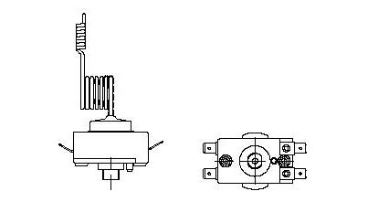 Чертеж терморегулятора