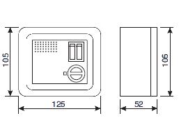 Пульт управления вентилятора O'Erre RG 5 AR, в описание