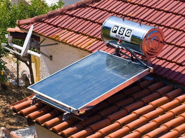 Водонагреватель на крыше своими руками 69
