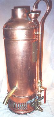Старинный водонагреватель