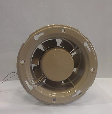 Термостойкий накладной вентилятор для саун и бань MM-S 100 в виде деревянной бочки, в описание